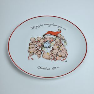 Vintage Kewpie Collectible Christmas Plate for Sale in Pala, CA