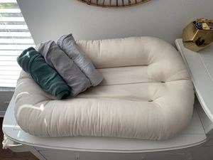 SnuggleMe Organic w/ 3 covers for Sale in Spring Hill, FL