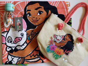 Disney Moana Summer Bundle: Towel, Swim Bag & Fliptop Water Bottle for Sale in Glendale, CA