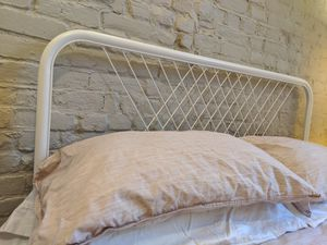 NESTTUN Bed frame, white, Full/Double AND under bed slats for Sale in Brooklyn, NY