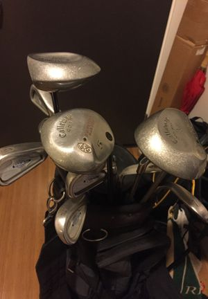 Men's Callaway Big Bertha Drivers and Stealhead Iron Golf Set (with a Golf Bag) for Sale in San Francisco, CA