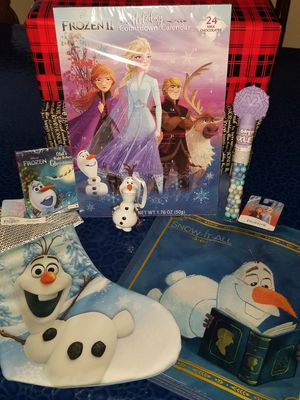 Frozen 2 Olaf Christmas Bundle for Sale in Brooklyn, NY