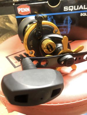 Penn Squall 12 fishing reel (righty) for Sale in Hackensack, NJ