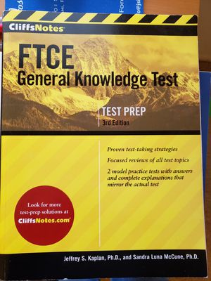 FTCE General knowledge for Sale in Maitland, FL