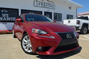 2014 Lexus IS 250 for Sale in Garland, TX