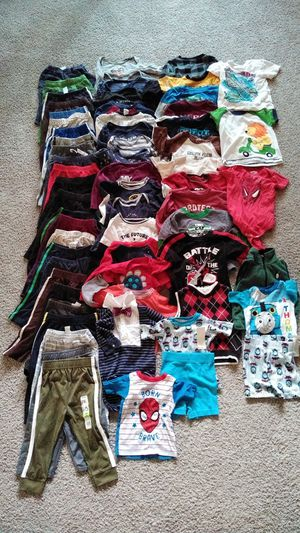 66 Beautiful Baby Boy's Clothes , size 18 Months ( excellent condition ) price for all for Sale in Frederick, MD