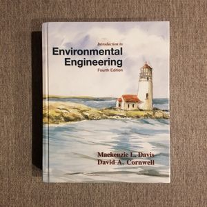 Introduction to Environmental Engineering by Mackenzie L. Davis and David A. Cornwell for Sale in Washington, DC