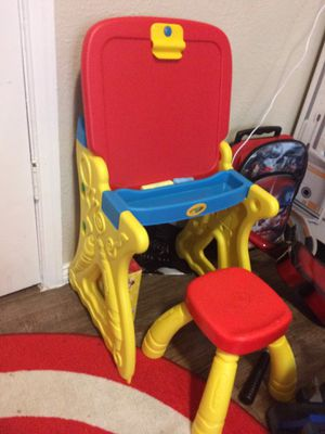 Crayola kids drawing desk for Sale in Dallas, TX