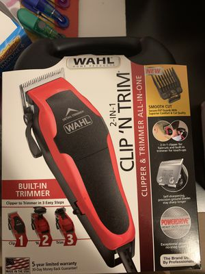 Wahl Clipper Clip 'n Trim 2 In 1 Hair Cu for Sale in Needham, MA
