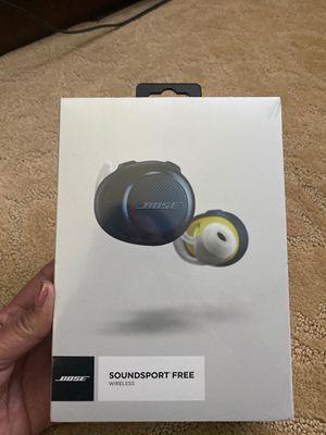 Bose SoundSport Free wireless headphones. for Sale in Oceanside, CA
