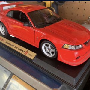 1/18 Maisto Red 2000 Ford Mustang SVT Cobra Diecast Car Ad Will Be Removed When Sold for Sale in Rancho Cucamonga, CA