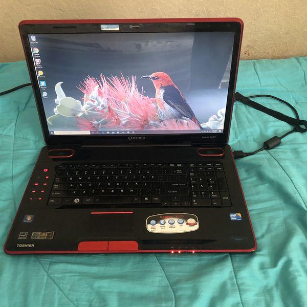 TOSHIBA QOSMIO X505 window 10 Gaming Laptop