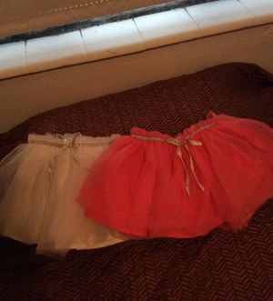2 tutu skirts from carter's for Sale in Miami, FL