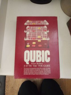 Qubic 3D Tic Tac Toe Game Still Factory Sealed! for Sale in Shoreline,  WA