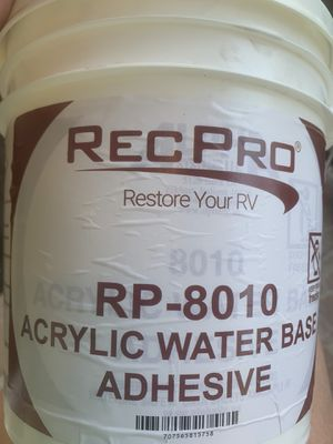 RecPro RP-8010 Acrylic water base adhesive for Sale in LXHTCHEE GRVS, FL