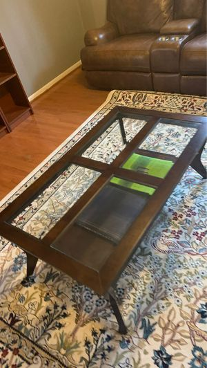 Glas Coffee Table MUST GO for Sale in Annandale, VA