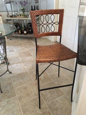 Bar stool, wicker for Sale in Plano, TX