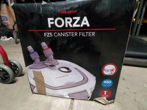 Forza F25 cannister aquarium filter for Sale in Dublin, OH