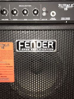 Fender amplifier (EXCELLENT CONDITION WORKS GOOD‼️) for Sale in Yakima,  WA