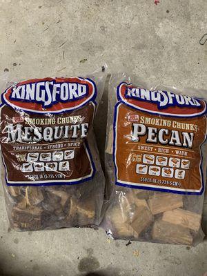 Smoking chucks 2 mesquite & 2 pecan for Sale in Lawrenceville, GA