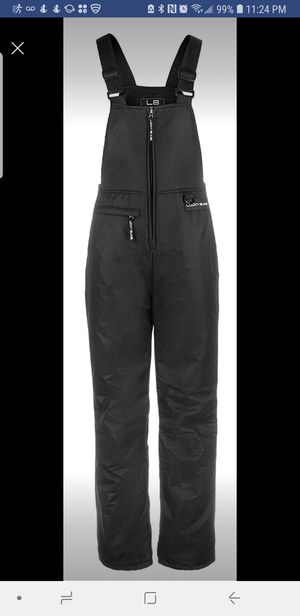 NEW kid Size LARGE Snow BIB / OVERALL - Black Color - San Jose 95121 for Sale in San Jose, CA