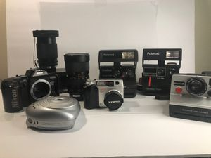 Vintage film and digital Camera Lot for Sale in Hill Air Force Base, UT
