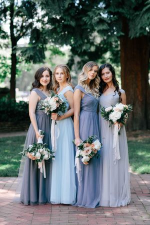 Tulle Bridesmaid or Prom Dress Charcoal for Sale in Everett, WA
