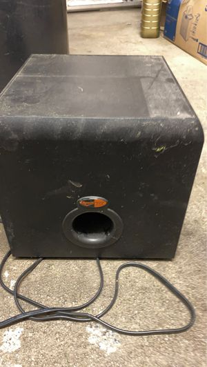 Klipsch. Thx Subwoofer/amp for Sale in Fallsington, PA