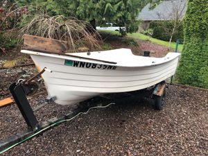 10ft Fiberglass Boat for Sale in Snohomish, WA