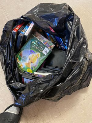 Free DVDS and portable DVD player for Sale in Philadelphia, PA