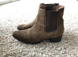 Suede Frye Chelsea Boots. Men's 8.5/Women's 11 for Sale in Atlanta, GA