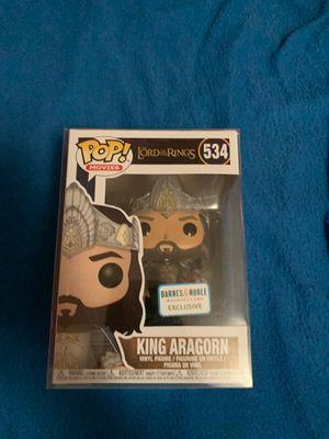 Funko Pop LOTR King Aragorn for Sale in Long Beach, CA