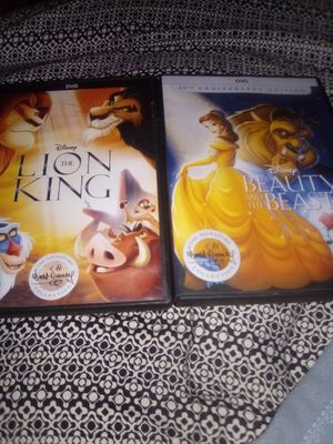 Lion King and beauty and the beast dvd for Sale in Columbus, OH