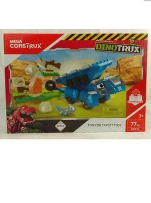 Mega Construx Dino Truck Target Toss Building Block Playset for Sale in Fairburn, GA