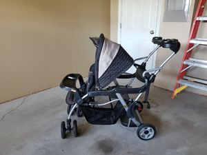 Double stroller that's collapsible for Sale in Heidelberg, PA