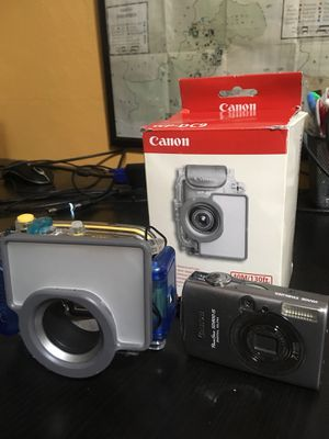 Digital camera with underwater case for Sale for sale  Coral Gables, FL