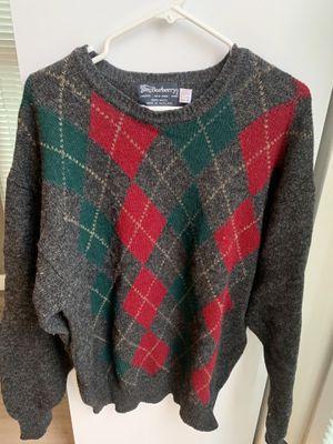 Burberry Men's Sweater (100% Wool) for Sale in Seattle, WA