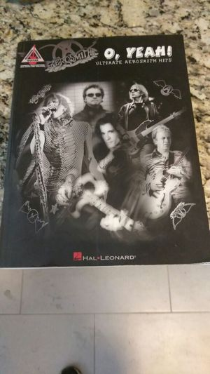 Arosmith guitar music book for Sale in St. Louis, MO