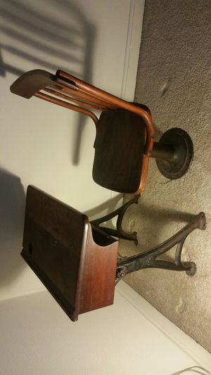 Antique childrens desk and shair for Sale in Weymouth, MA