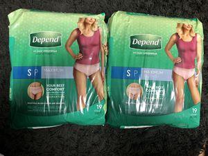 Depend Fit-Flex Underwear (small) for Sale in Norcross, GA