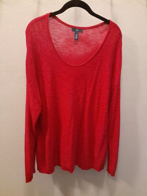 """GAP"" RED LONG SLEEVE SWEATER for Sale in Tulare, CA"
