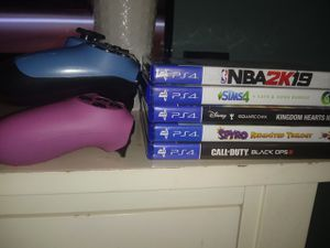 Ps4 controllers and games for Sale in Philadelphia, PA
