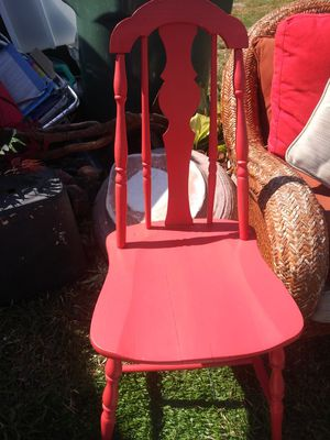 Chair windsor painted 1800s sell 200 for Sale in Fort Lauderdale, FL