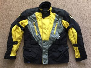 Excellent Barley Used Belstaff Cordura Adventure Motorcycle Jacket Armor Large BMW GS, Ducati Multistrada for Sale in Irvine, CA