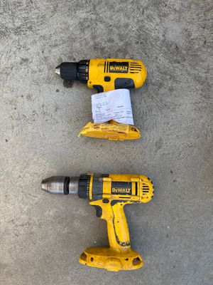 Dewalt drill driver and hammer drill for Sale in Bloomington, CA