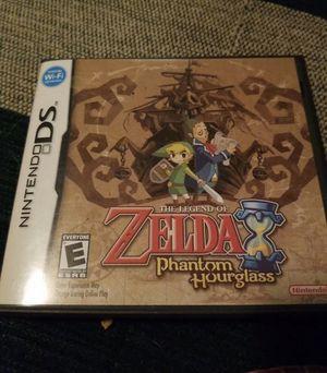 The Legend of Zelda: Phantom Hourglass (Nintendo DS) for Sale in Newton, KS