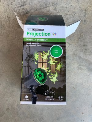 Halloween witch projector for Sale in Elgin, OK