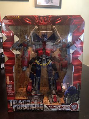 Transformers Optimus Prime Revenge of the Fallen Action Figure Toy for Sale in Los Angeles, CA