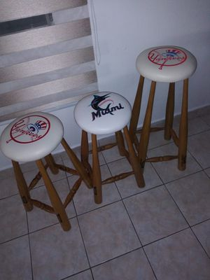 Baseball teams bat chairs for Sale in Washington, DC