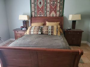 Mission /Rustic style Queen size bedroom set for Sale in La Porte, TX